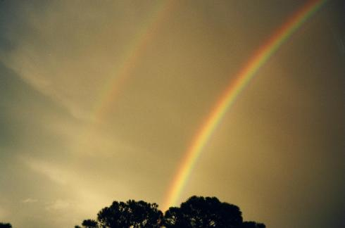 Double Rainbow in Florida